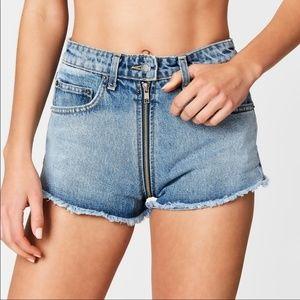 Carmar from LF Helen Exposed Full Zip short shorts